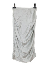 Nina Ricci silk blend grey skirt - $132.74