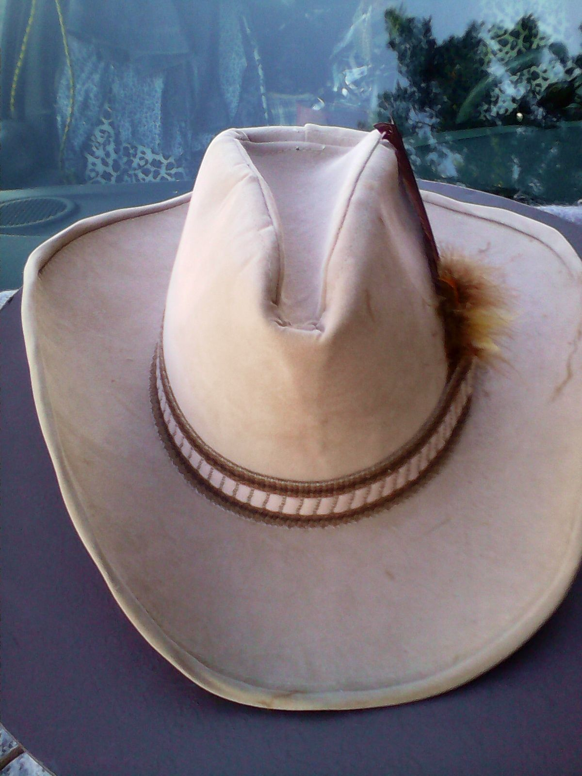 36d25b3673320 Vtg STETSON-LIKE Cowboy Hat In Gucci Box and 12 similar items. S l1600