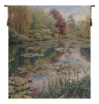 Monet's Garden without Border III Belgian Wall Tapestry - $429.00