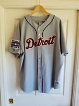 RARE VINTAGE Detroit Tigers Authentic Magglio Ordonez World Series Jersey 2XL - $59.39