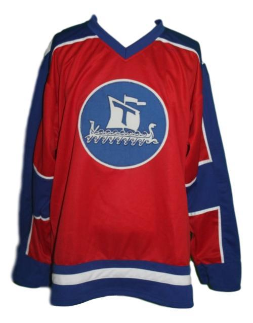Custom Name # Team Norway Hockey Jersey New Red Any Size