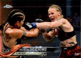 Valentina Shevchenko 2018 Topps Chrome UFC Card #91 - $0.99