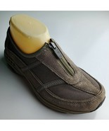 """Easy Spirit """"Sekristalle"""" Women's Brown Sneakers With Front Zipper Size 6.5 - $35.50 CAD"""