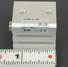 NEW SMC CDQSB16-10D COMPACT AIR CYLINDER CDQSB1610D MAX. 1.0MPa (NO HARD WARE)