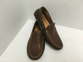 Johnston & Murphy Flex Driving Moc Loafers 25-0940 Brown Leather Men's 8... - $42.06
