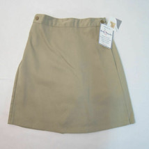 Becky Thatcher Khaki Wrap Skort Scooter Model 10 Girls School Uniform Ne... - $15.95
