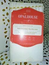 King 400 Thread Printed Performance Cotton Pillowcase White/Yellow Opalhouse image 3