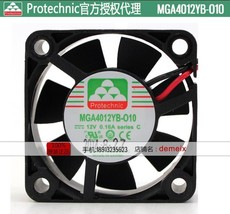 Original Protechnic High speed DC fan MGA4012YB-O10 12V 0.16A 2 months warranty - $14.95
