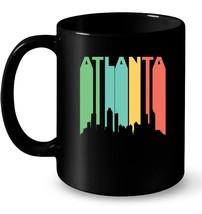 Retro Atlanta Georgia Cityscape Downtown Skyline Gift Coffee Mug - $13.99+