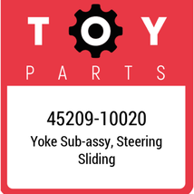 45209-10020 Toyota Yoke Steering, New Genuine OEM Part - $92.28