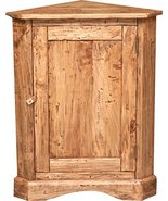 Biscottini Country-Style Solid Lime Wood Natural Finish W50XDP50XH92 cm ... - $626.38