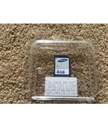 Sandisk Samsung 4GB SD Card Memory Card - $11.87