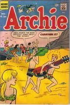 Archie Comics Comic Book #186, Archie 1968 GOOD+ - $4.25