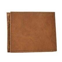 Levi's Men's RFID Extra Capacity Traveler Credit Card ID Bifold Tan Wallet (Tan) image 5