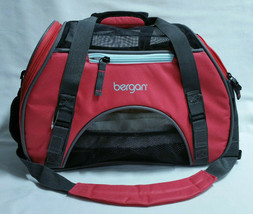 BERGAN Small Pet Comfort Carrier Airline Approved Pink Berry Color 16 x ... - $21.77