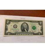 United States Jefferson $2 uncirc. banknote 2009  #6 - $7.95