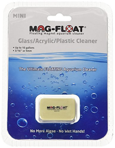 Gulfstream Tropical AGU00259 Mag-Float Mini Glass and Acrylic Aquarium Cleaner