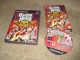 Guitar Hero: Aerosmith (Sony PlayStation 2, 2008) - $5.93