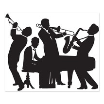 Great 20's Jazz Band Insta-Mural Wall Decoration Kit - $10.99