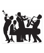 Great 20's Jazz Band Insta-Mural Wall Decoration Kit - $14.68 CAD