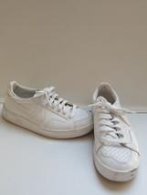 Nike white tennis shoes sneakers 36.5 womens 6 or youth 4 - $12.88