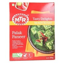 MTR Ready To Eat - Palak Paneer, 300 gm Carton - $11.81