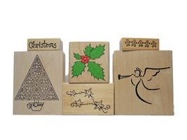 Christmas Holiday Rubber Stamp Bundles image 7