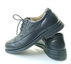 "Bass ""Lincoln"" Oxford's Men's Sz 10.5M Black Leather Dress Shoes (sb4)  - $24.00"
