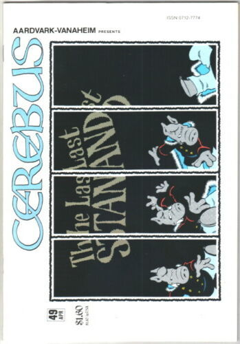 Cerebus the Aardvark Comic Book #49 AV 1983 NEAR MINT NEW UNREAD