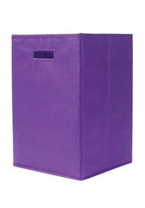 Primary image for Home Storage Box Household Organizer Felted Bin Basket Purple Container
