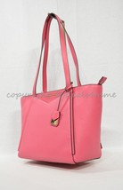NWT Michael Kors Whitney Small Pebbled Leather Tote Shoulder Bag. Rose Pink - $179.00