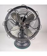 Casablanca Fan Company Zephair Oscillating Desk Fan Nickel / Black 19N8D - $397.01