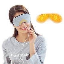 Ubit Eye Mask,Natural Cotton Adjustable Sleep Mask,Blindfolded,USB Heate... - €18,83 EUR