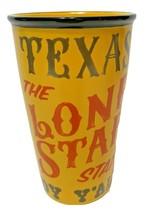 Starbucks Texas Tejas The Lone Star State 12oz Ceramic Tumbler Travel Mu... - $19.53