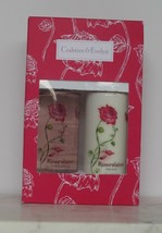 Crabtree Evelyn Duo Rosewater Gift Set Body Lotion Bath Shower Gel 8.5 f... - $24.74