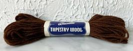 Vintage Bucilla Tapestry 100% Pure Virgin Wool Yarn - 1 Skein Brown #69 - $3.33