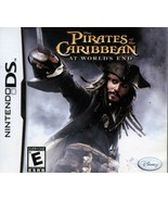Pirates of the Caribbean At Worlds End NINTENDO DS Video Game - $3.97