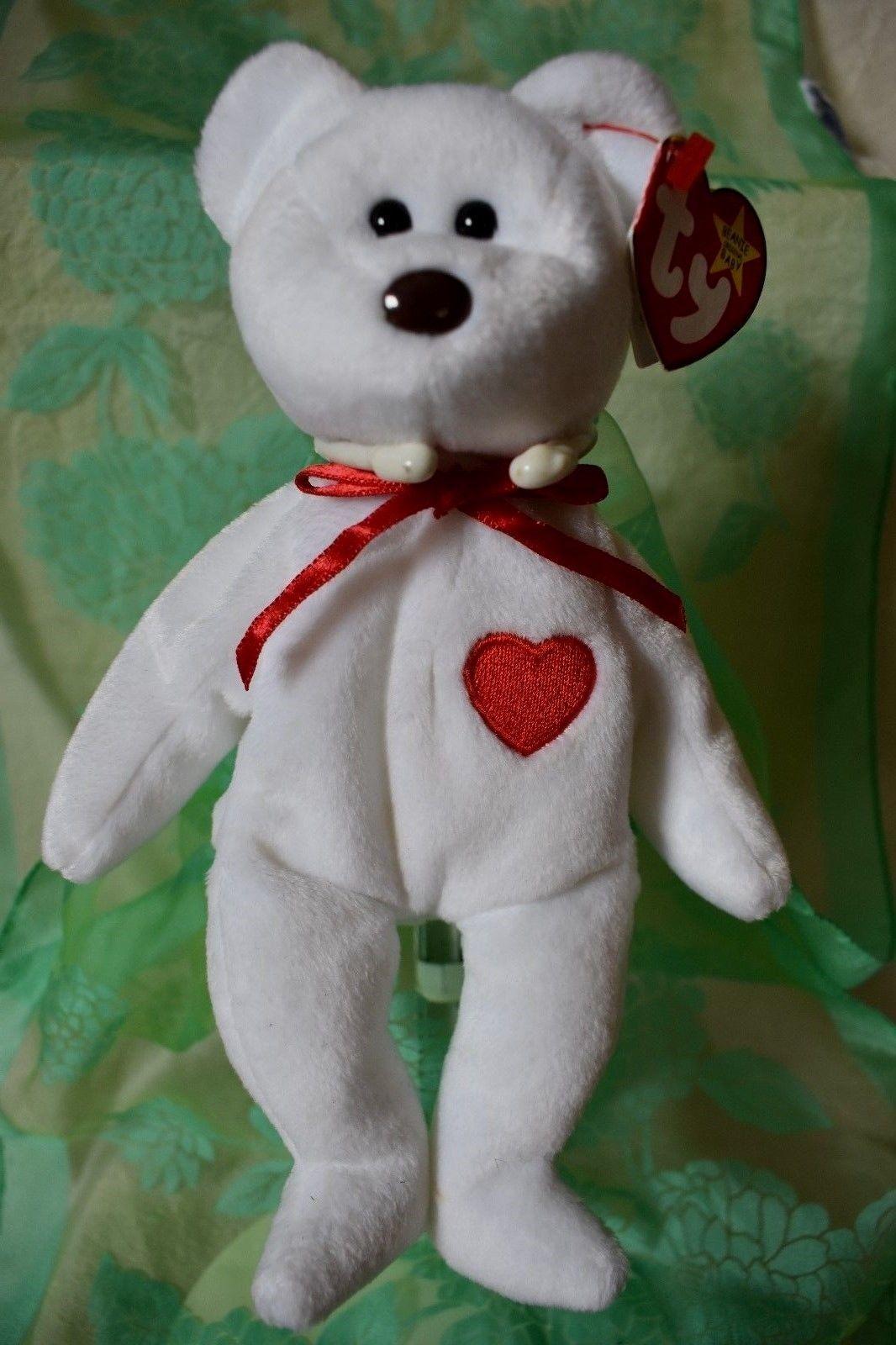 5ca431a91ca Ty Beanie Baby Valentino Bear