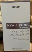 Azure Hyaluronic & Retinol Anti Aging Facial Serum For Women (1.69 oz./S... - $19.79