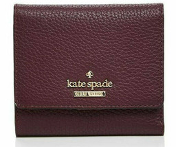 Kate Spade Mini Wallet Card Holder jackson street jada Leather Trifold ~... - $78.21