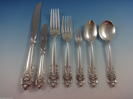 Grande Baroque by Wallace Sterling Silver Flatware Set For 6 Service 42 ... - $2,495.00