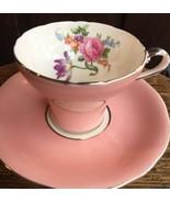 Klassisch Selten Aynsley Rosa Rose Iris Gänseblümchen Bouquet - Tee Tass... - $149.46