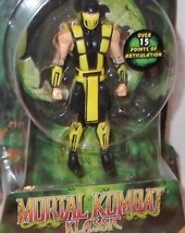 "RARE Mortal Kombat ✰ SCORPION ✰ figure SEALED 4"" jazwares 15 points arti... - $49.99"