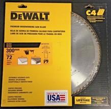 Dewalt DW730072HG 300mm x 72 Teeth Thin Kerf Melamine Woodworking Saw Blade USA - $79.20
