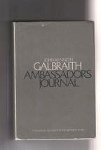 "John Kenneth Galbraith ""Ambassador's Journal"""".  Signed hardback book - JFK - $35.00"