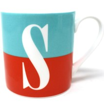 Kate Spade Lenox What's In A Name Initial Monogram S Coffee Mug Tea Cup New - $14.89