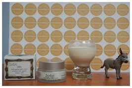 Greek Women Anti-ageing Soothes Night Cream Face,Neck With Bio Donkey Milk 5oml - $16.49