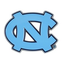 Fanmats NCAA North Carolina Tar Heels Diecast 3D Color Emblem Car Truck 2-4 Days - $10.64