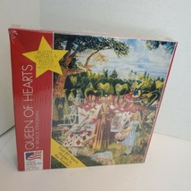 Great American Puzzle Factory Queen of Hearts Broeck Steadman New Sealed Alice - $33.90