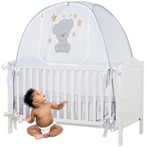 Safety Crib Tent Cover to Keep Your Baby from Climbing Out, Crib Tents t... - $121.99
